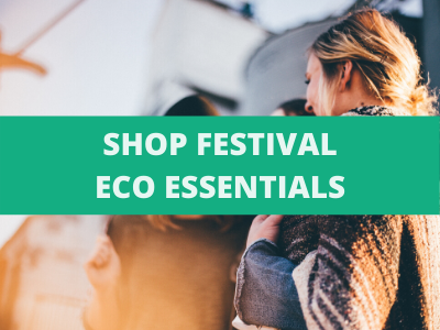 Shop festival essentials over an image of women together